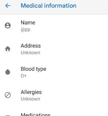 How to add emergency number in OnePlus 6 lock screen