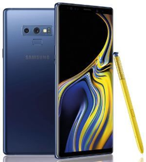 How to change picture size and video size on Galaxy Note 9